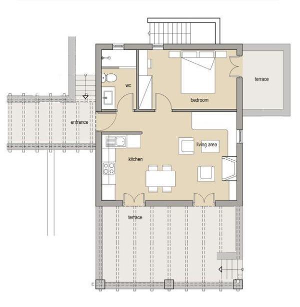 Villa Myrtia floor plan