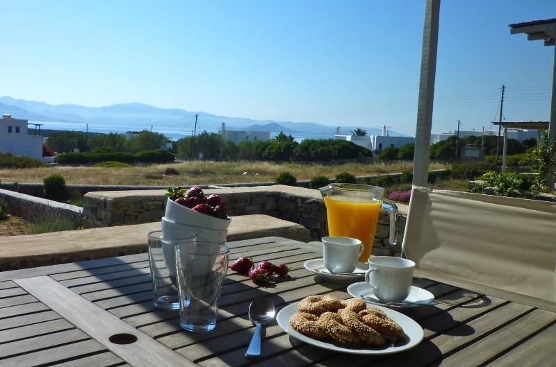 Villa Myrtia terrace view