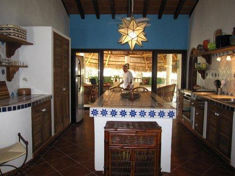 Step inside and you are greeted by stars and vibrant Mexican colors.