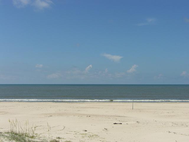 Vista de la playa de Coastawhile
