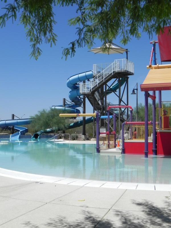 Parque Aquático Splash grande