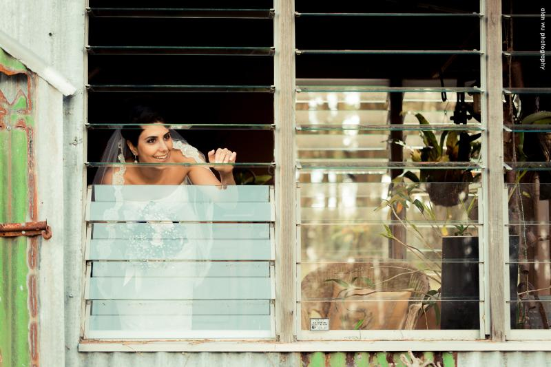 Westhill Wedding Bride in Orchid Shed
