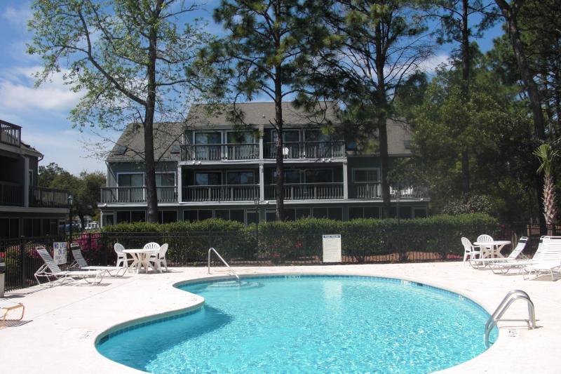 Pool and Hot Tub Area