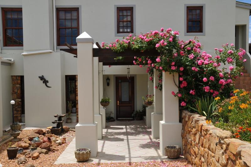 Front entrance to guesthouse