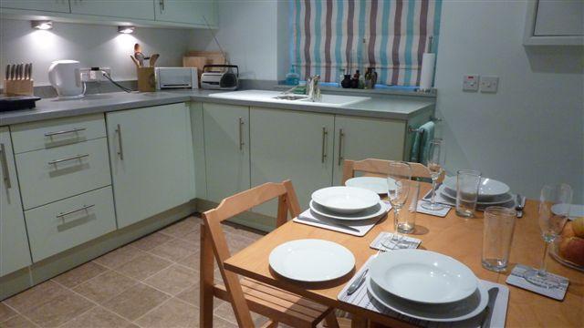 Evening Kitchen