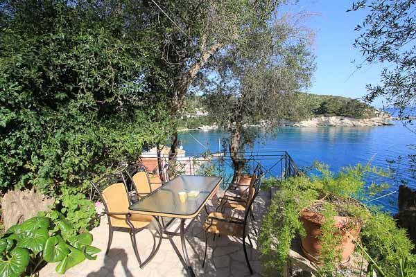 Views and Terrace at Aglaia Villa