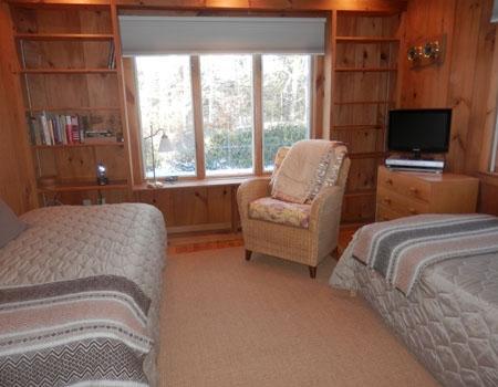 2 º dormitorio con 2 gemelos y TV