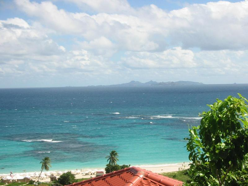 View of St Barth