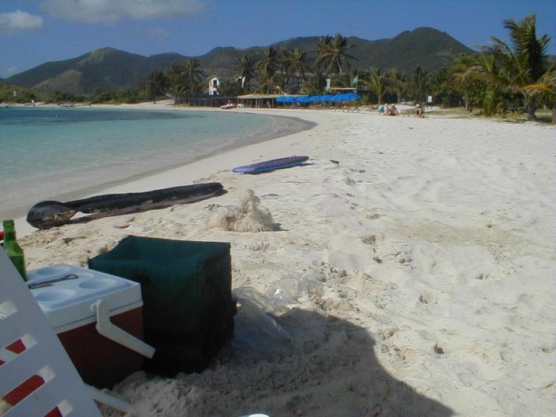 Galion Beach - the 'Baby Beach'