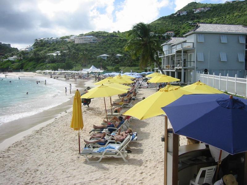 Dawn Beach near Oyster Pond Hotel