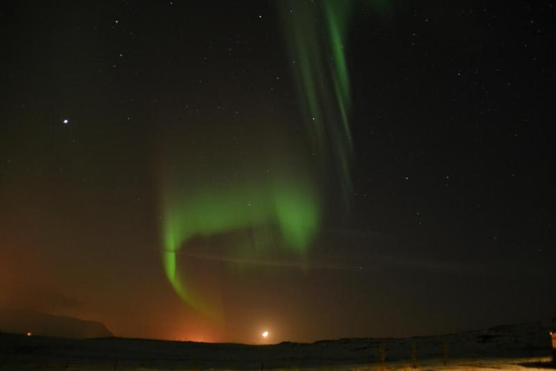Northen lights at Kalastaðir