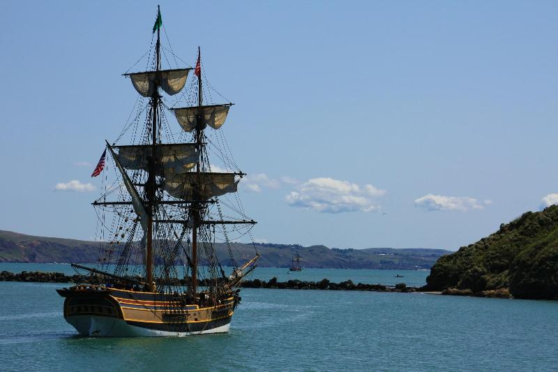The Tall Ships Visit Bodega Bay in the Spring