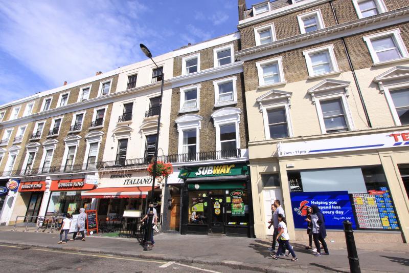 Vibrant Queensway, plenty ethnic restaurants
