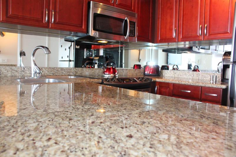 Kitchen let's prepare something yummy or I vote pop some Champange