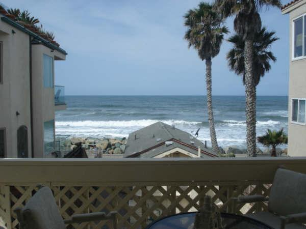View of the Ocean from the balcony