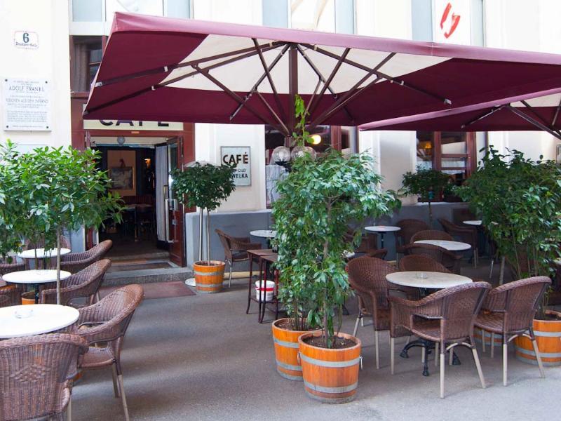 Cafe Havelka, 3 minutes walk