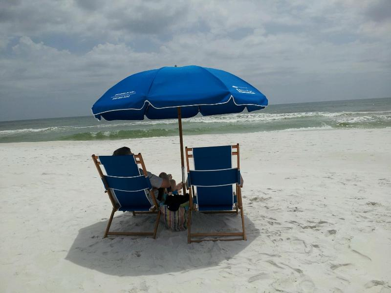 Free Professional Beachside Chair & Umbrella Set Up