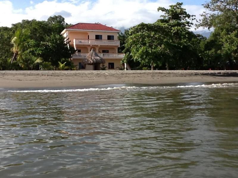 Casa de Tranquilidad desde el océano!