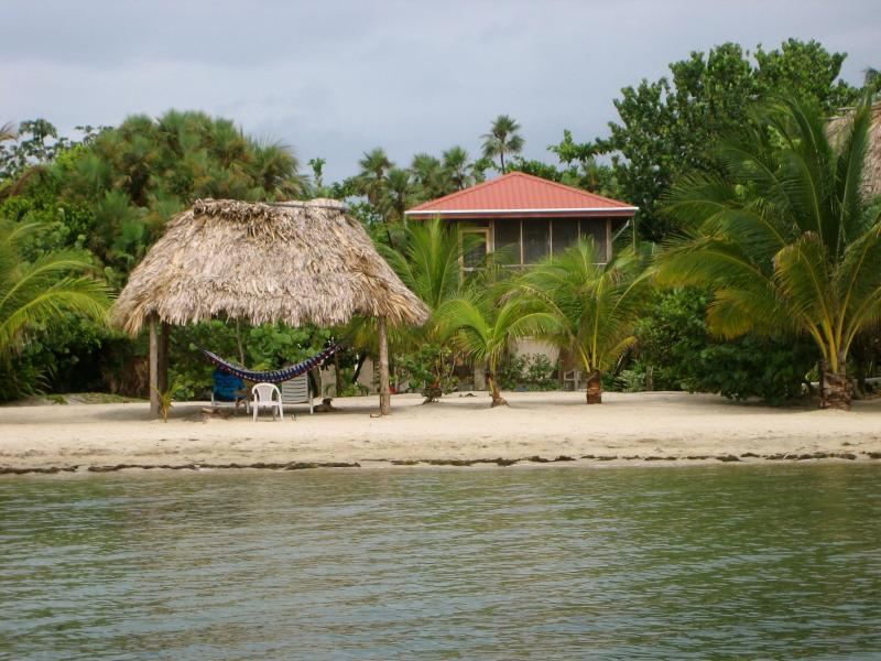 View of our house from the water