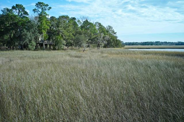View of Cabin from marsh