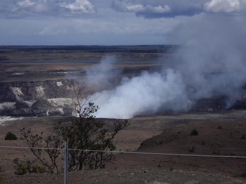 Volcán otro lado de la isla