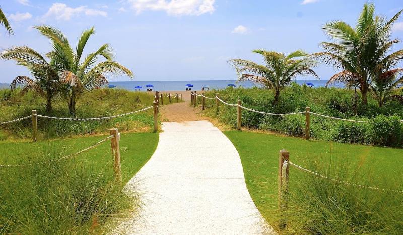 Zusätzliche Strand weg...