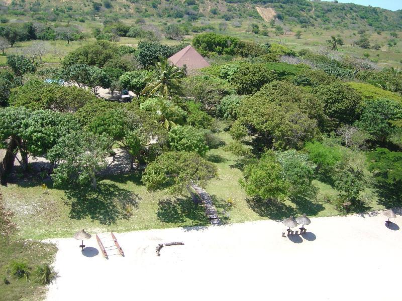Aerial view of Villa N'Banga