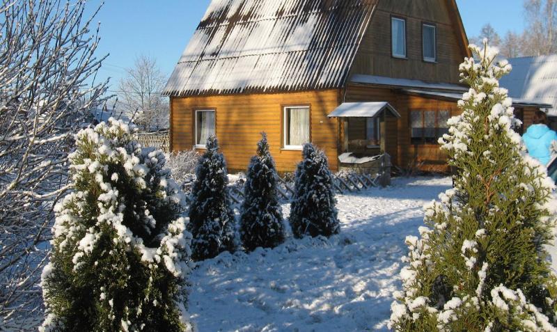 Log Cabin in National Park Braslav Lakes, holiday rental in Vitebsk Region