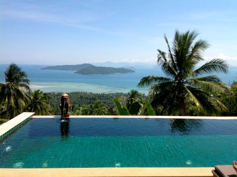 Villa Taling Ngam, Amazing Sea View, holiday rental in Soi Leamset