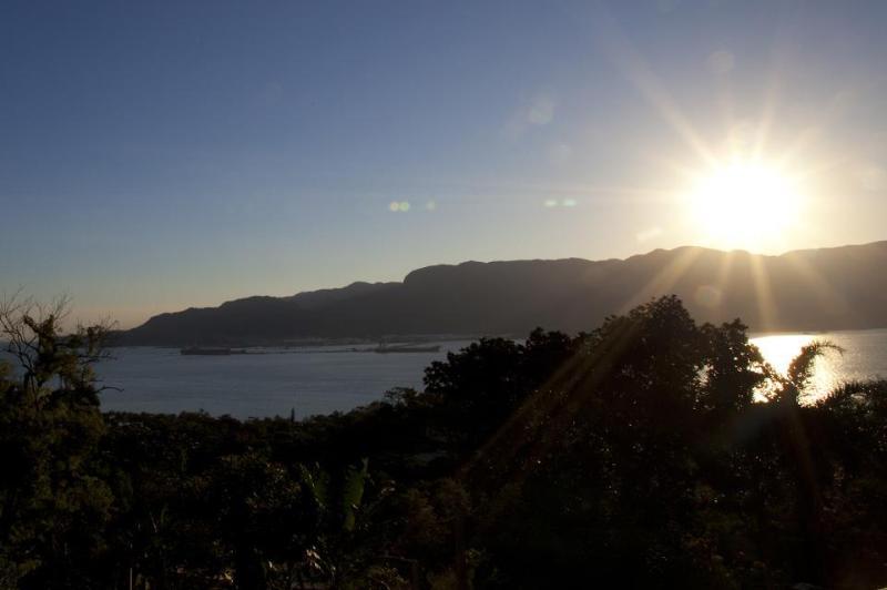 Um lugar perfeito pra curtir o por-do-sol na Ilhabela.