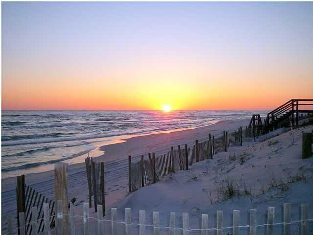 Beautiful Destin sunset just walking distance away