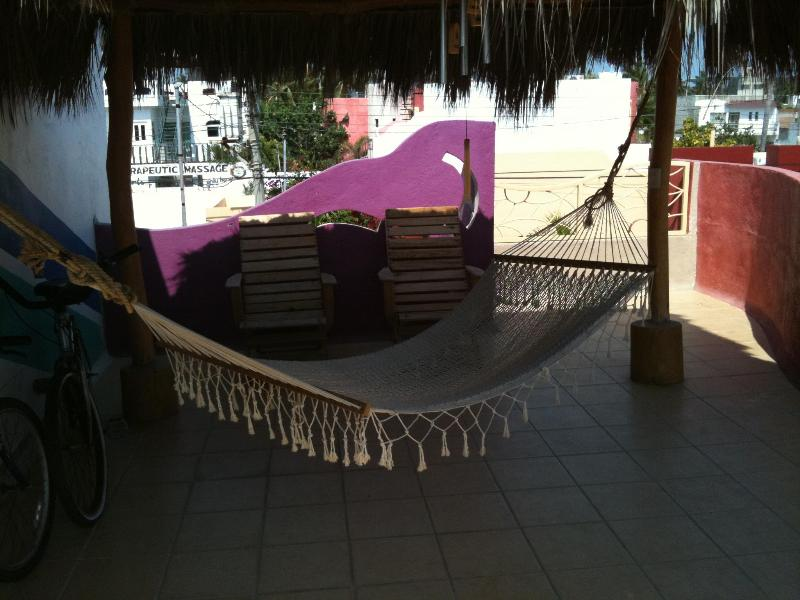 Hammock on the rooftop