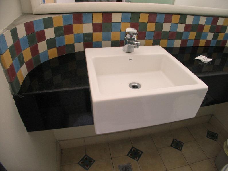 Lavabo - habitación estándar