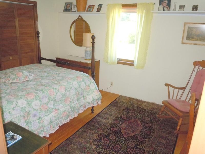 2nd floor north bedroom with double bed