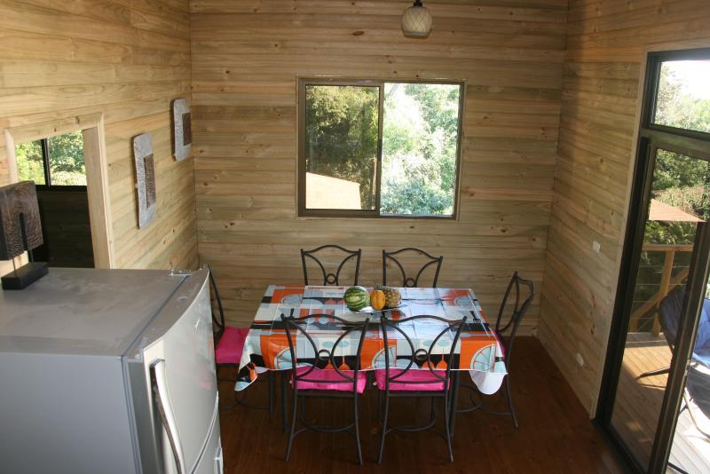 the dinign room