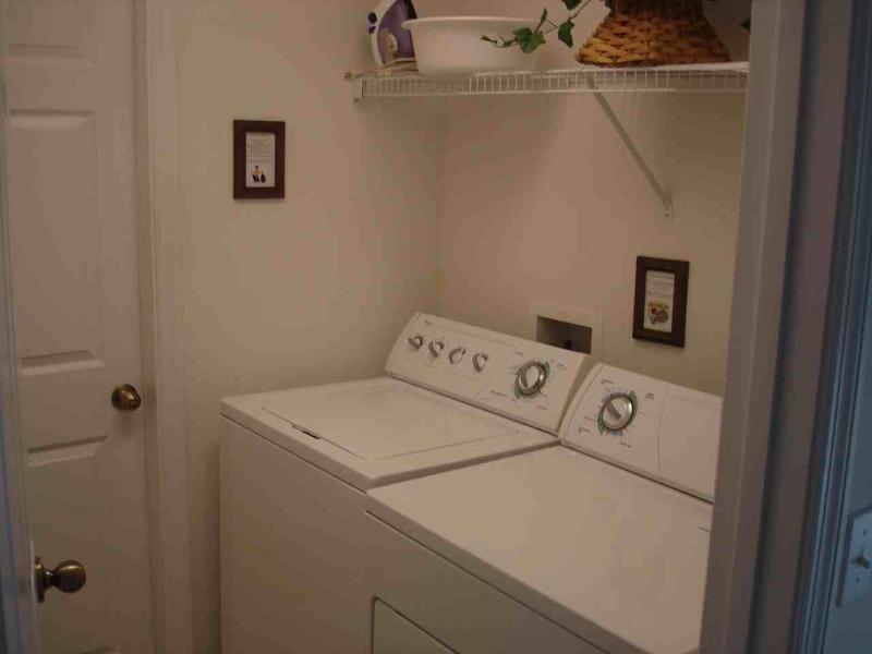 Pack lite e usar a nossa máquina de lavar e secadora