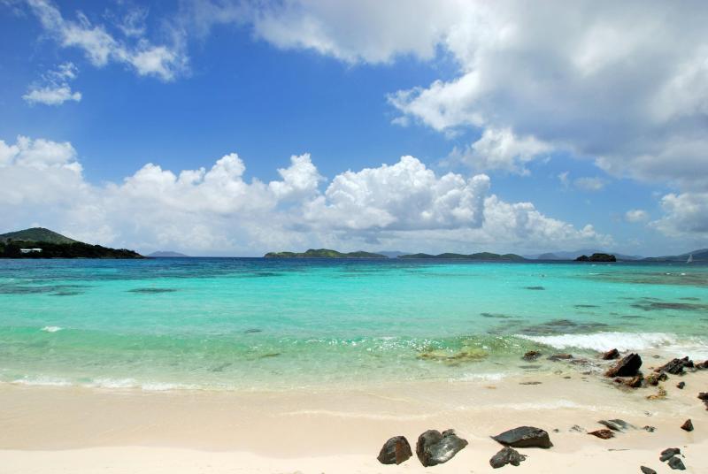 Playa de zafiro