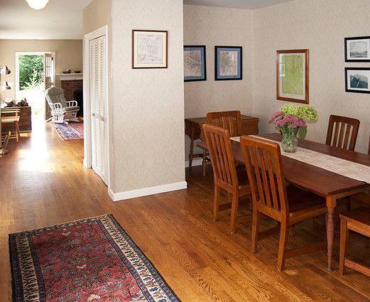 Dining area and hallway