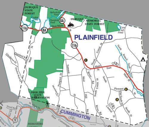 Plainfield Map