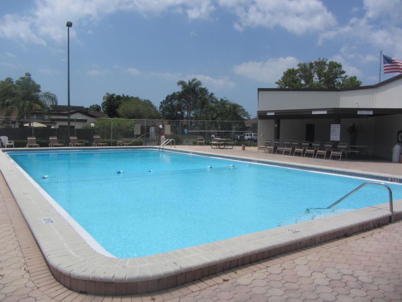 Oversized pool