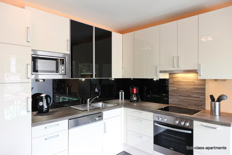 a brand new kitchen with all needed devices