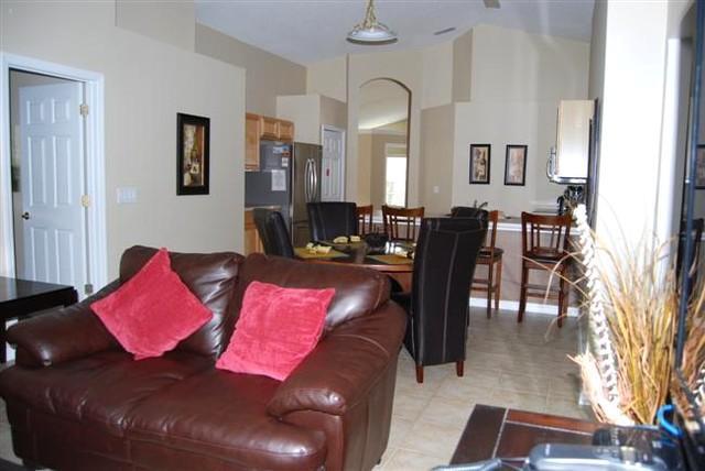 Open Living Room/Kitchen Area