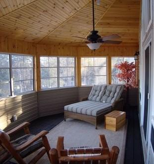 Screened Porch off of Master suite