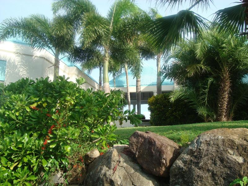 Side yard view to Veranda