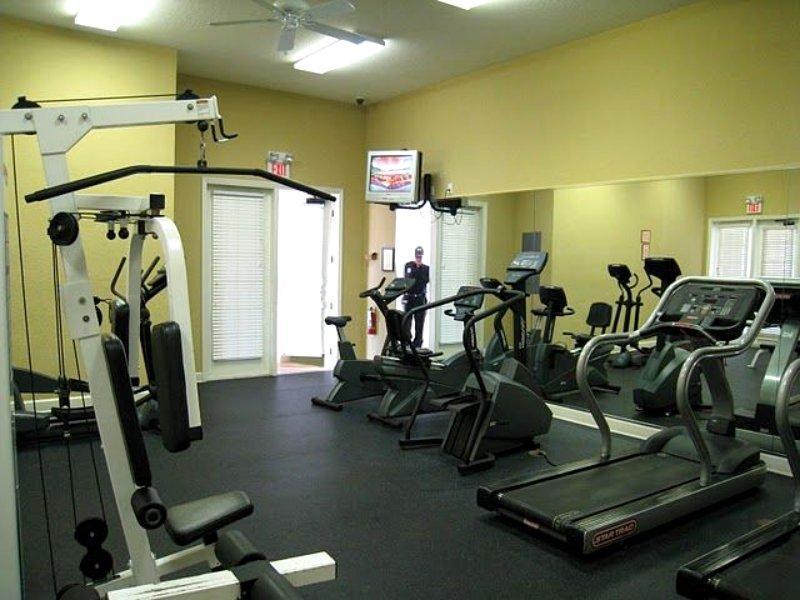 Fitness Center - Open 24 hr x 7 days a week -