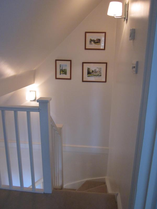 the staircase upto the first floor