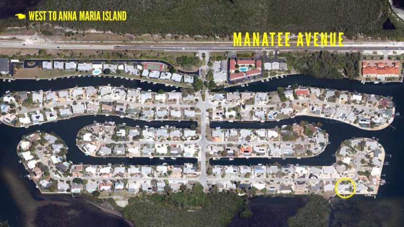 Located just off Manatee Avenue
