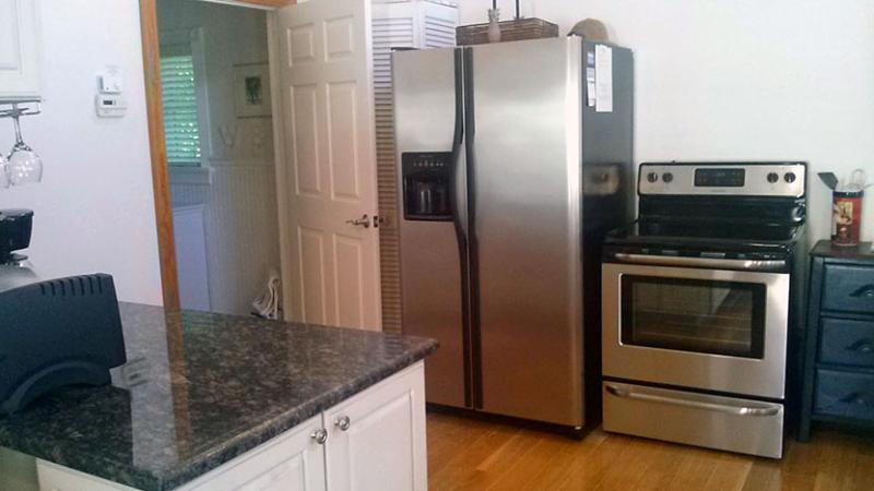 Kitchenette Includes a Brand New Electric Range