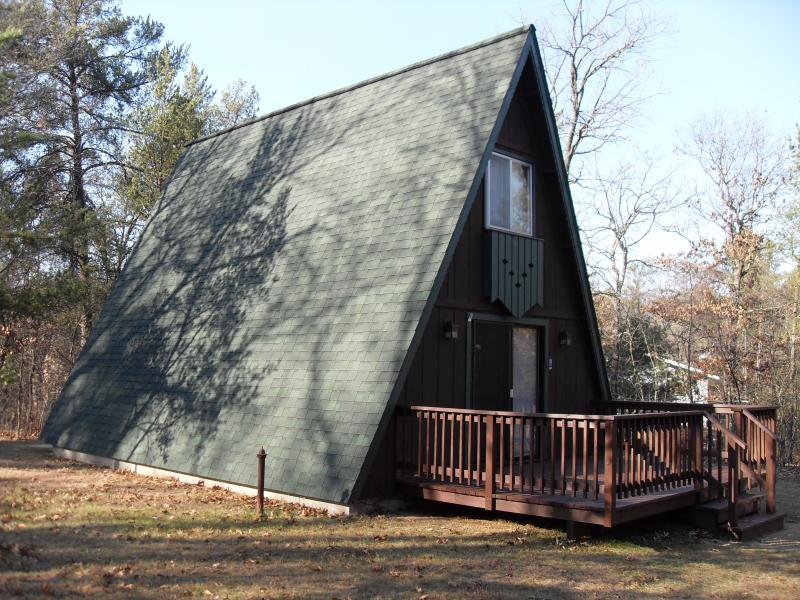 Quincy Cabin Castle Rock Lake Area Adams Friendship WI WI Dells, alquiler vacacional en Adams