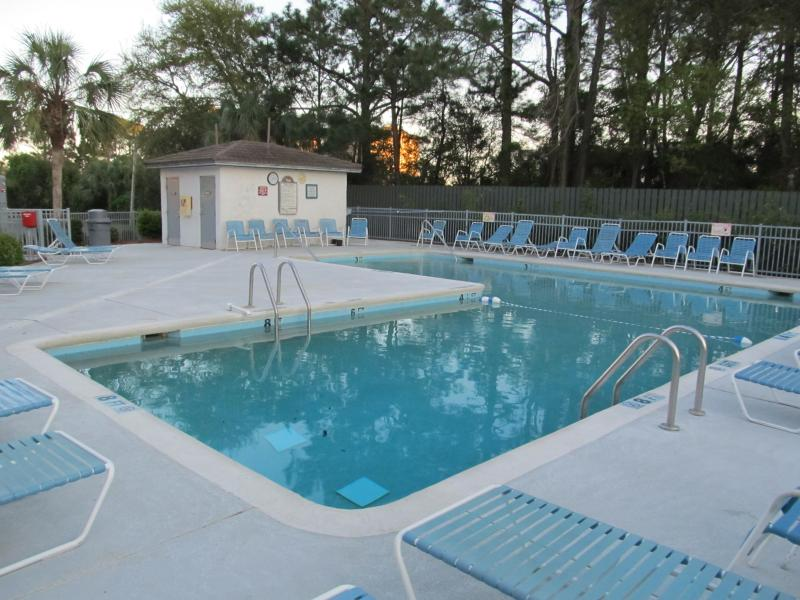 Pool Directly across from our Unit
